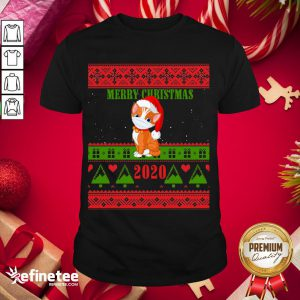 Official Cat Wearing Merry Christmas 2020 Xmas Day - Design By Refinetee.com 2020 Shirt