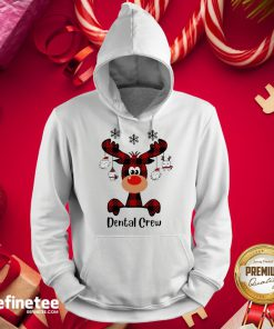 Official Reindeer Dispatcher Dental Crew ChristmasHoodie - Design By Refinetee.com