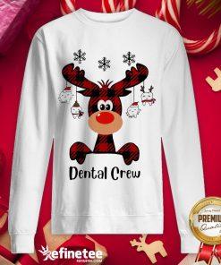 Official Reindeer Dispatcher Dental Crew ChristmasSweatshirt - Design By Refinetee.com