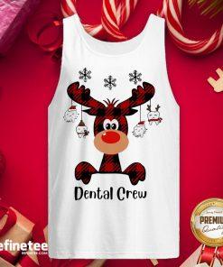 Official Reindeer Dispatcher Dental Crew ChristmasTank-Top - Design By Refinetee.com