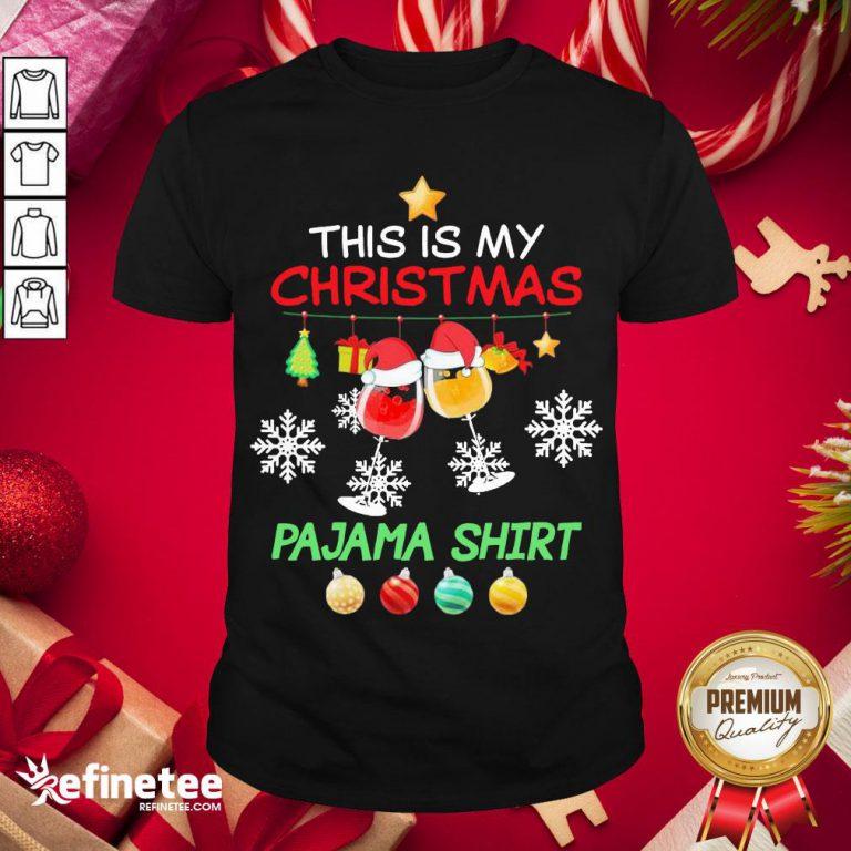 Official Swine Santa This Is My Christmas Pajama Shirt- Design By Refinetee.com