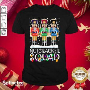 Cool Nutcracker Squad Merry Christmas Shirt - Design By Refinetee.com