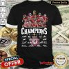 Cute Alabama Crimson Tide 2020 Southeastern Conference Champions Player Names Signatures Shirt - Design By Refinetee.com