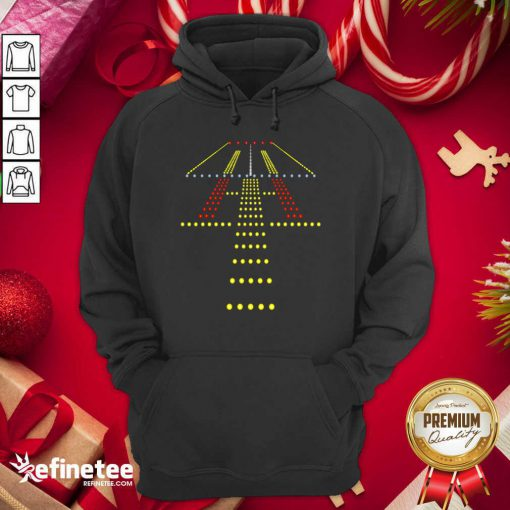 Fantastic New Runway Light Ugly Christmas Hoodie - Design By Refinetee.com