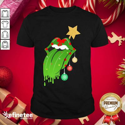 Funny The Rolling Stones Merry Christmas Shirt - Design By Refinetee.com
