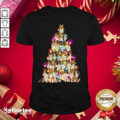 Good Sheltie dog Christmas Tree Sheltie Xmas Tree Shirt - Design By Refinetee.com