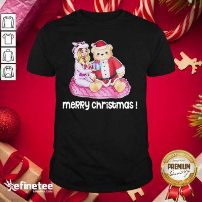 Great Rebekah Wing Merch Merry Christmas Shirt - Design By Refinetee.com