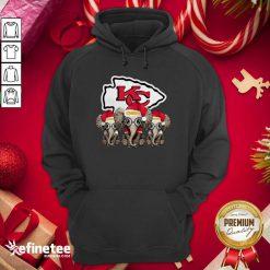Happy Kansas City Chiefs Elephant Christmas Hoodie - Design By Refinetee.com