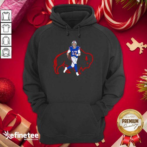 Hot Josh Allen Buffalo Bills Hoodie - Design By Refinetee.com