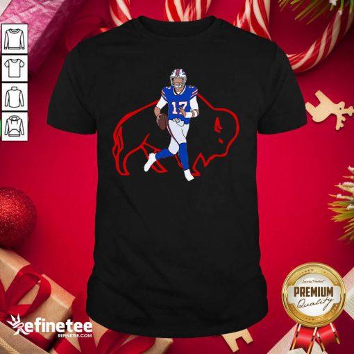 Hot Josh Allen Buffalo Bills Shirt - Design By Refinetee.com