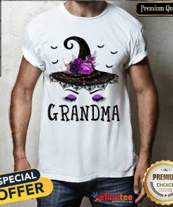 Lovely Grandma Witch Hat Halloween Shirt - Design By Refinetee.com