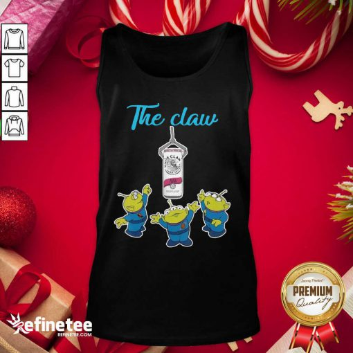 Premium The Claw Merry Christmas Tank Top - Design By Refinetee.com