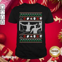 Pretty Water Polo Ugly Christmas Shirt - Design By Refinetee.com