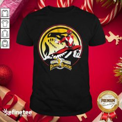 Super Nice Tyrannosaurus Power Coin Mighty Morphin Power Rangers Shirt - Design By Refinetee.com