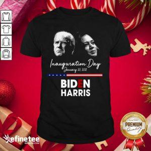 Top Inauguration Day January 20 2021 Biden Harris Shirt - Design By Refinetee.com