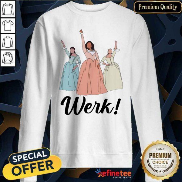 Top The Schuyler Sisters Werk Include Women In The Sequel Sweatshirt - Design By Refinetee.com