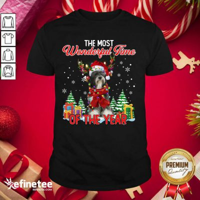 Top Tibetan Terrier The Most Wonderful Time Of The Year Ugly Christmas Shirt - Design By Refinetee.com