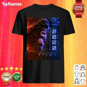 Attractive Filtrados Juguetes Ve Godzilla Vs Kong 2020 Shirt