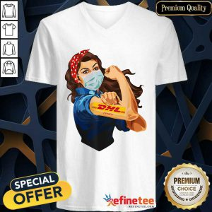 Attractive Strong Woman Tattoo DHL V-neck