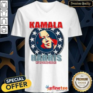 Cute Kamala Harris Hope 2021 Inauguration Making History My VP V-neck