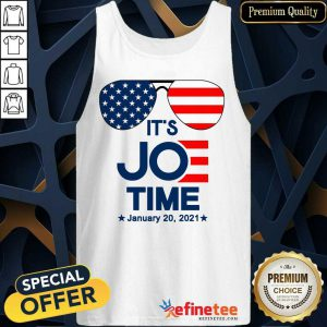 Excellent Glasses American Flag It's Joe Time January 20 2021 Tank Top