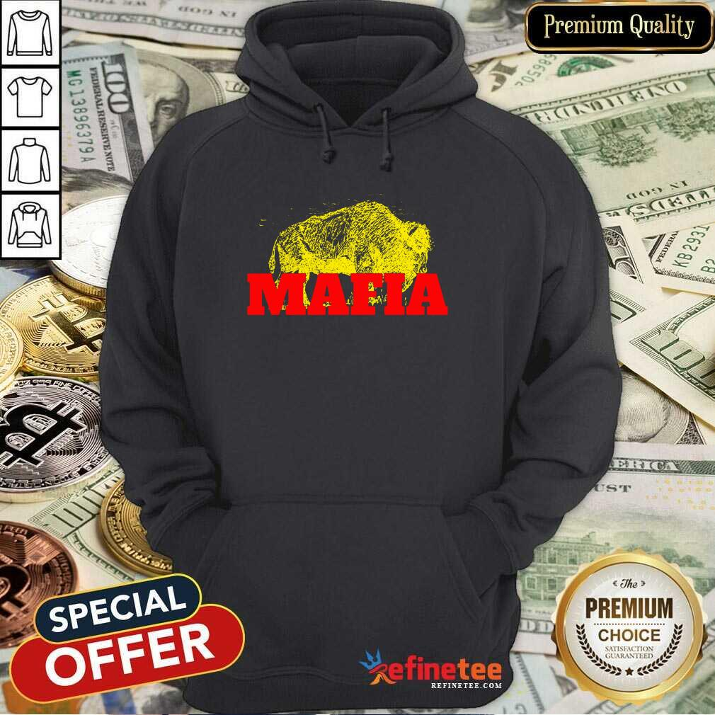 Fantastic Buffalo Bills Gold Mafia Hoodie