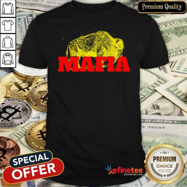 Fantastic Buffalo Bills Gold Mafia Shirt