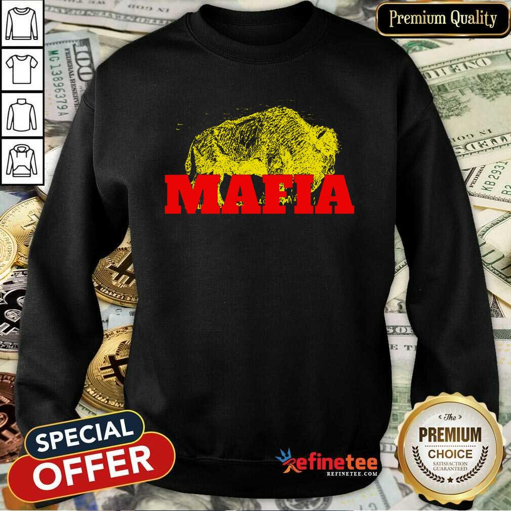 Fantastic Buffalo Bills Gold Mafia Sweatshirt