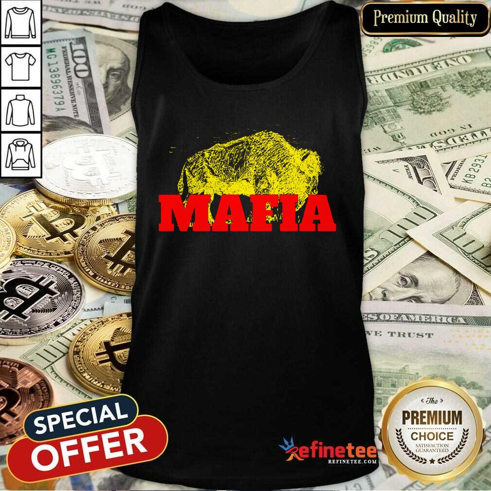 Fantastic Buffalo Bills Gold Mafia Tank Top