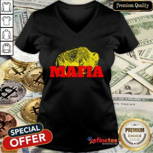 Fantastic Buffalo Bills Gold Mafia V-neck