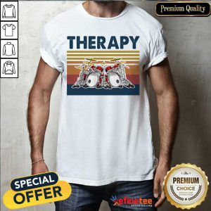 Fantastic Therapy Drum Band Music Vintage Shirt