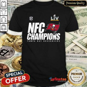 Great NFC Champions Tampa Bay Buccaneers Super Bowl LV Shirt