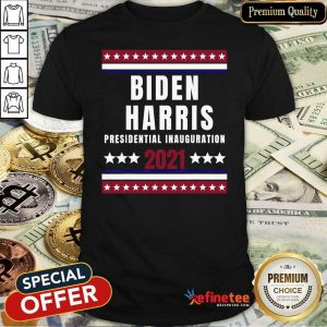 Happy Biden Harris Presidential Inauguration 2021 End Of An Error Shirt