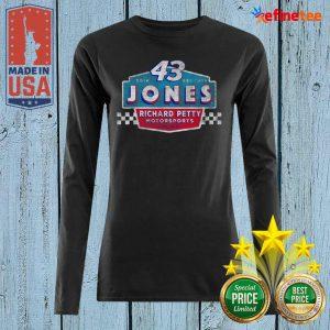 Pretty 43 Erik Jones Richard Petty Motorsports 2021 Long-sleeved