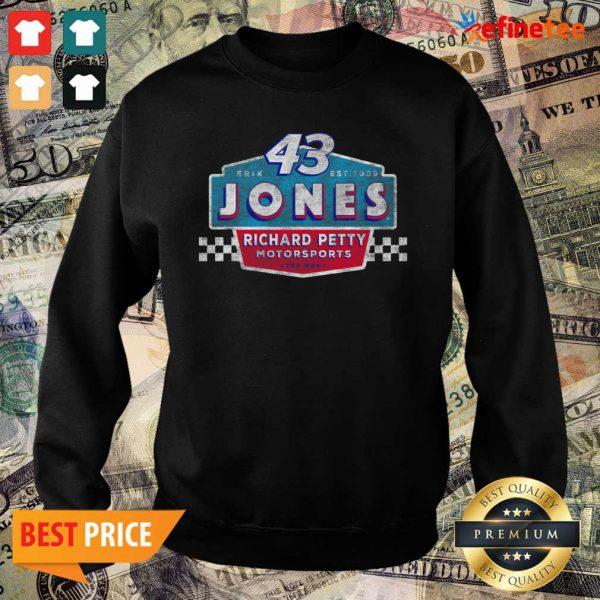 Pretty 43 Erik Jones Richard Petty Motorsports 2021 Sweater