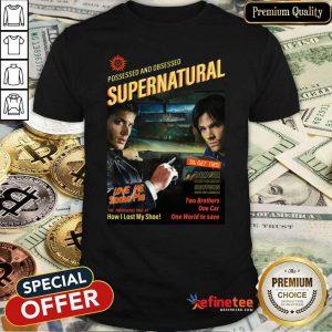 Pretty Possessed And Obsessed Supernatural Driver Picks The Music Shotgun Shirt