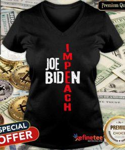 Super Nice Impeach Joe Biden V-neck