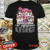 Top Philadelphia Phillies 138th Anniversary Thank You For The Memories Signatures Shirt - Design By Refinetee.com