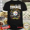 Wonderful Pittsburgh Steelers All Time Greats Signatures Shirt - Design By Refinetee.com