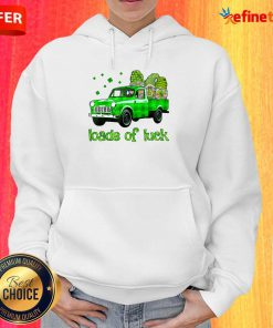 Gnomes Truck Loads Of Luck St Patrick's Day Hoodie
