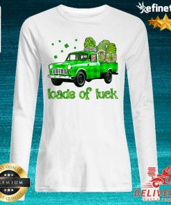 Gnomes Truck Loads Of Luck St Patrick's Day Long-sleveed
