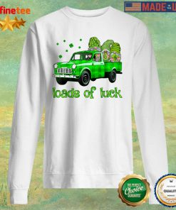 Gnomes Truck Loads Of Luck St Patrick's Day Sweater