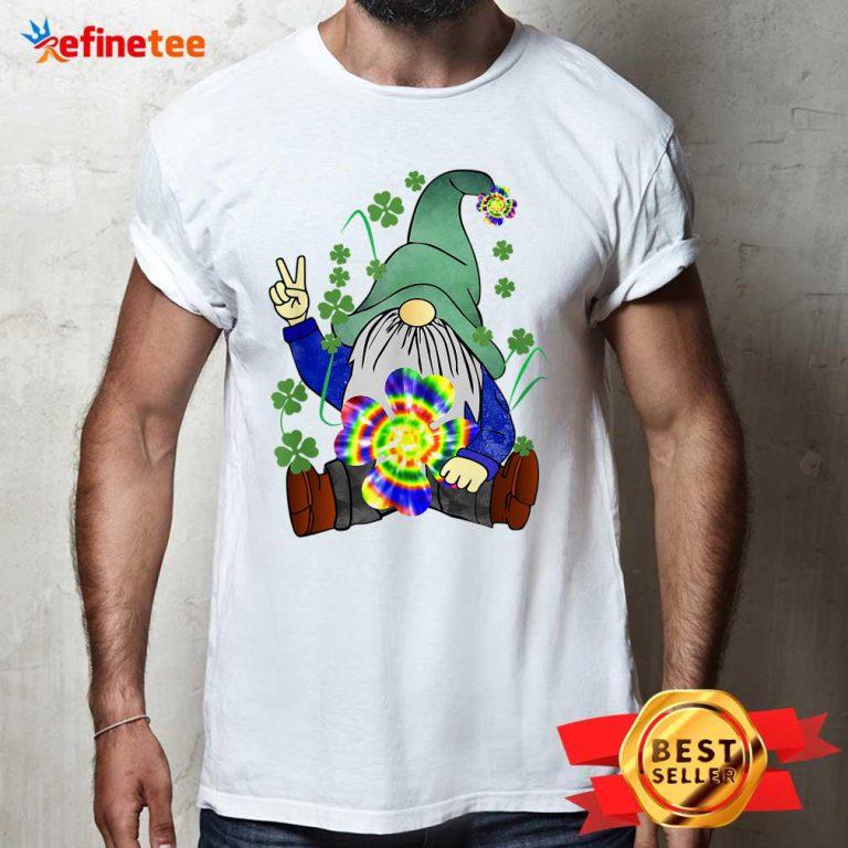 Hippie Gnome Happy St Patrick's Day Shirt
