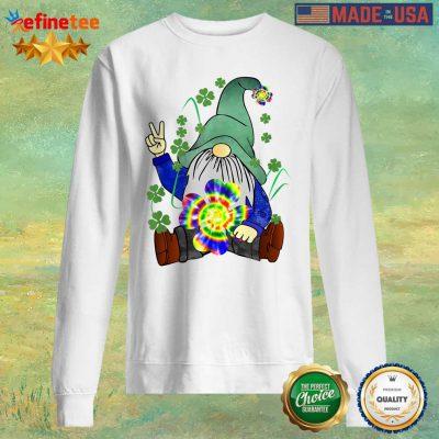 Hippie Gnome Happy St Patrick's Day Sweater