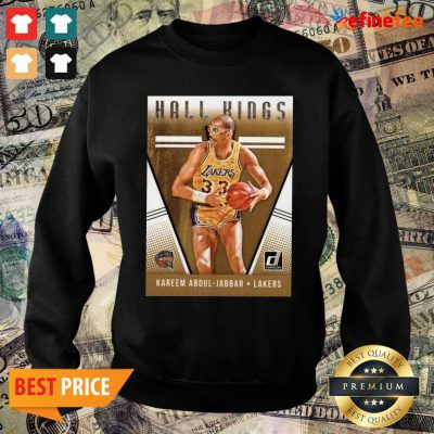 Hot 2018 2019 Donruss Hall Kings Basketball Card 12 Kareem Abdul Jabbar Los Angeles Lakers Sweater