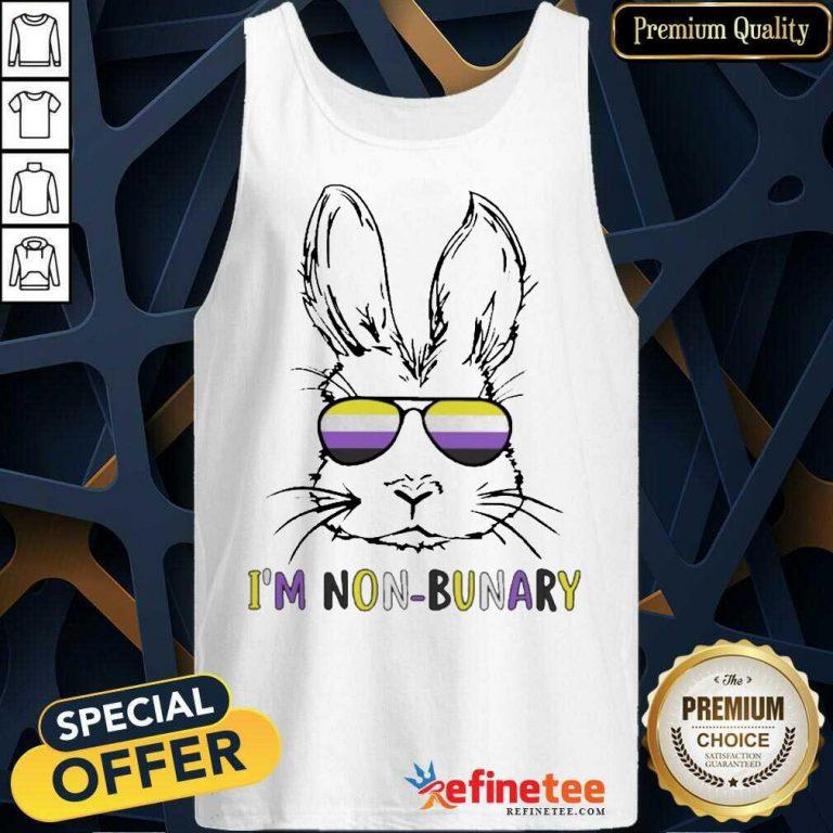 Hot Bunny Im Non Bunary Positive Tank Top