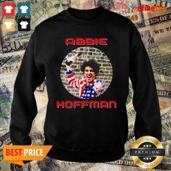 Wonderful Abbie Hoffman In His American Flag Sweater