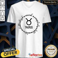 Awesome Loyal Sensual Taurus V-neck