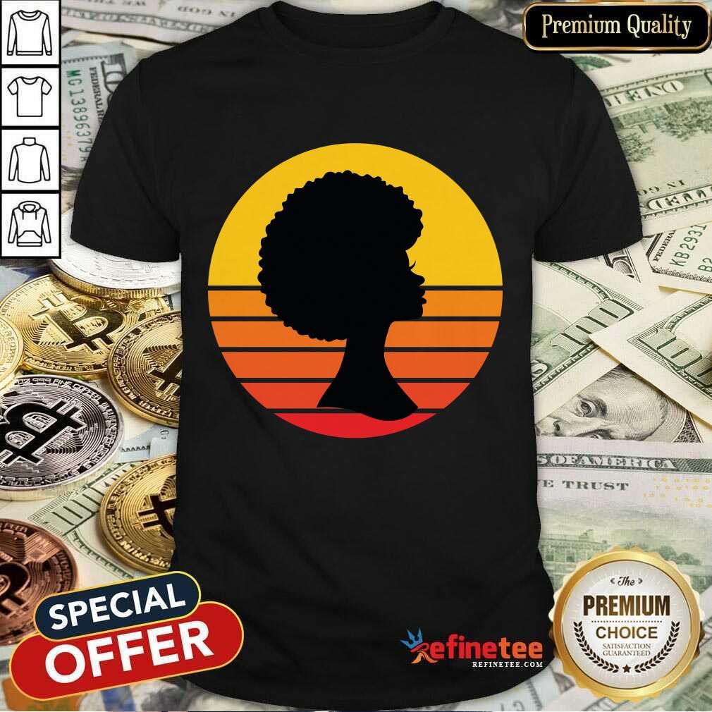 Black Woman Matter Is The Minimum Vintage Shirt