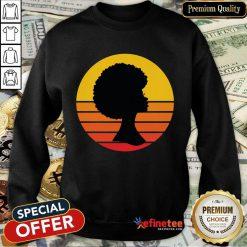 Black Woman Matter Is The Minimum Vintage Sweatshirt